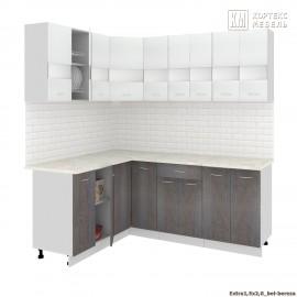 Кухня Корнелия ЭКСТРА угловая 1,5х2,0 [км.]
