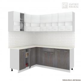 Кухня Корнелия ЭКСТРА угловая 1,5х2,1 [км.]