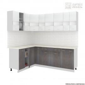 Кухня Корнелия ЭКСТРА угловая 1,5х2,2 [км.]