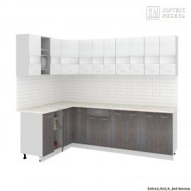 Кухня Корнелия ЭКСТРА угловая 1,5х2,6 [км.]
